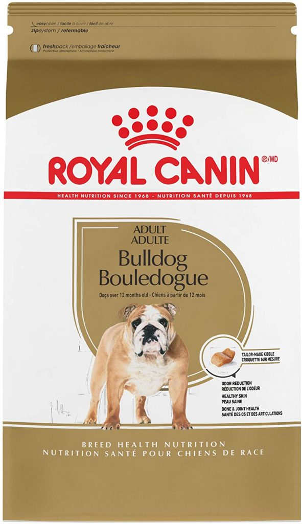 best dog food for French bulldogs with gas